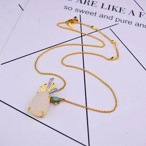 Alexis Bittar Zircon Pineapple Fun Necklace